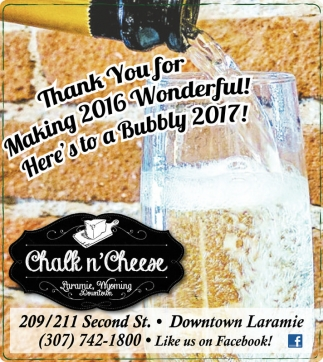 Thank you for making 2016 wonderful!