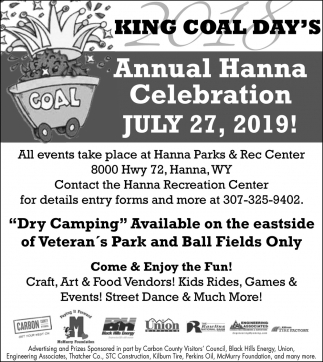 Annual Hanna Celebration