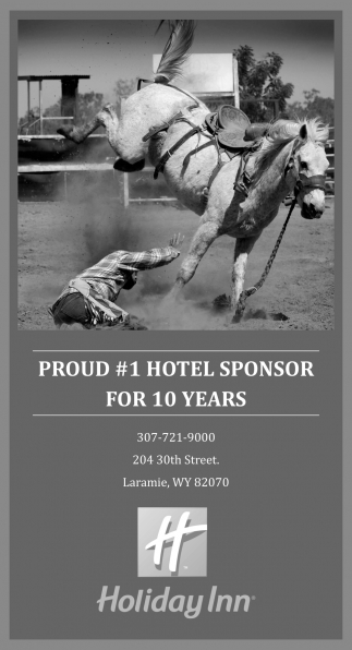 Proud #1 Hotel Sponsor for 10 Years