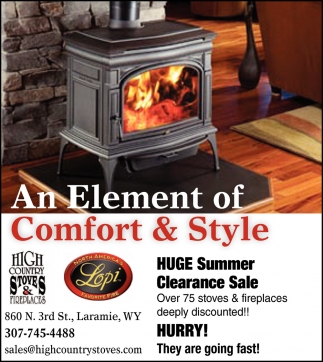 An Element of Comfort & Style