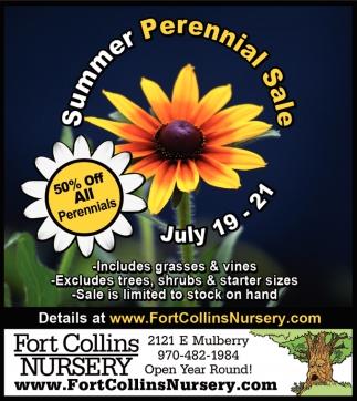 Summer Perennial Sale