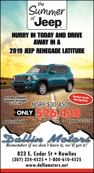 the summer of jeep dallin motors laramie boomerang