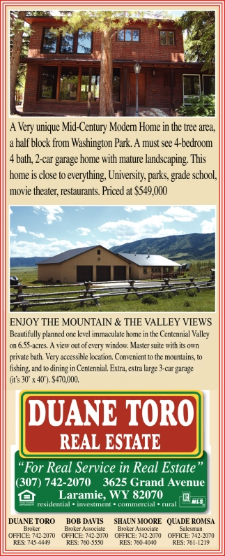 Enjoy the Mountains & the Valley Views