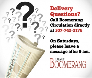 Delivery Questions?
