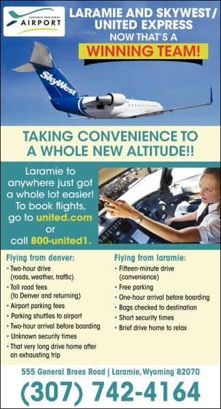 Laramie and Skywest/United Express