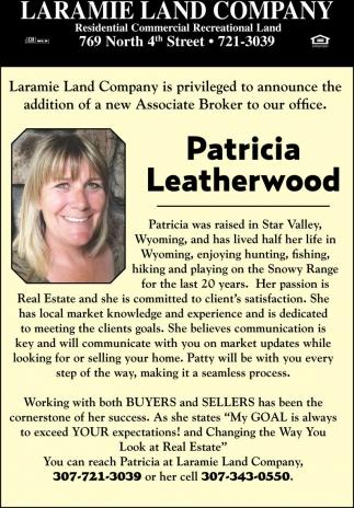 Patricia Leatherwood