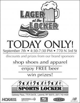 Lager at the Locker