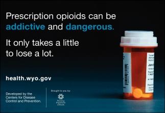 Precription Opioids Can Be Addictive and Dangerous