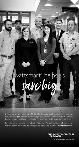 Wattsmart Helps Up Save Big