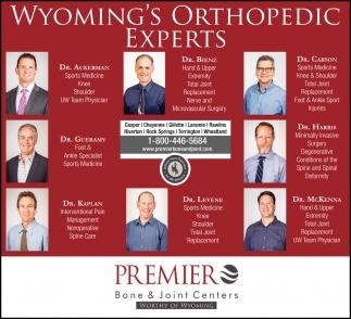 Wyoming's Orthopedic Experts