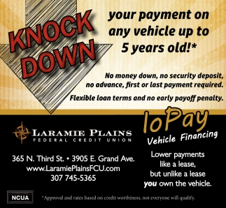 Knock Down Your Payment