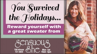 You survived the Holidays...!