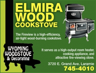 Elmira Wood Cookstove