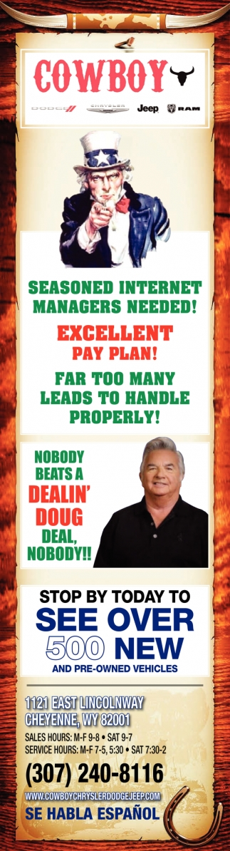 Nobody Beats a Dealin' Doug Deal, Nobody!!