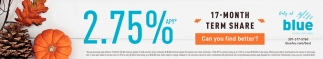 2.75% APY