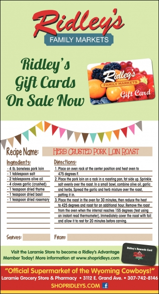 Gift Cards On Sale Now