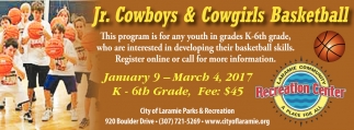 Jr. Cowboys and Cowgirls Basketball