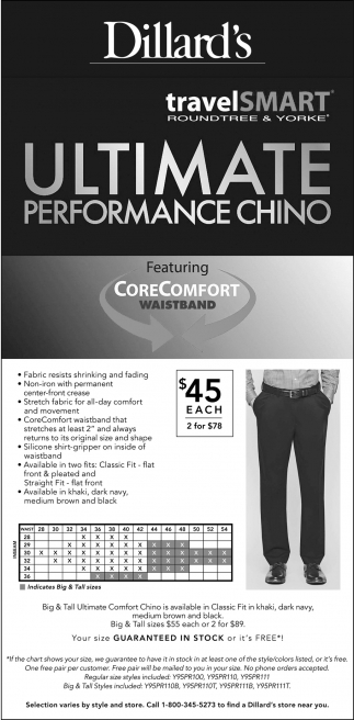 Ultimate Performance Chino