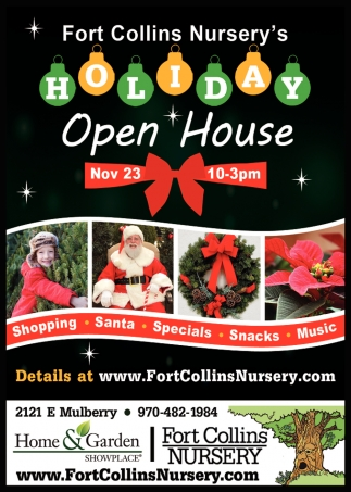 Holiday Open House Fort Collins