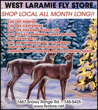 Shop Local All Month Long!