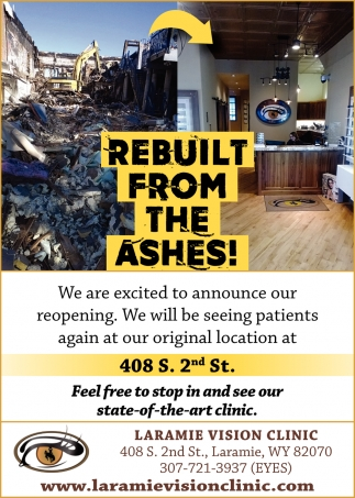Rebuilt From the Ashes!
