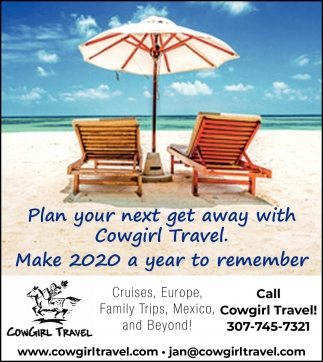 Plan Your Next Get Away with Cowgirl Travel