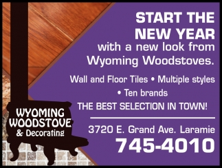 Start the New Year with a New Look from Wyoming Woodstoves