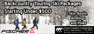 Backcountry Touring Ski Packages