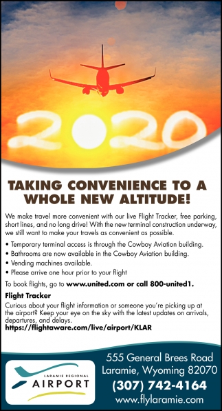Taking Convenience to a Whole New Altitude!