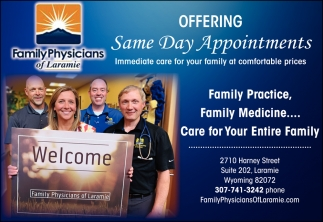 Offering Same Day Appointments