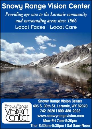 Providing Eye Care to the Laramie Community and Surrounding Areas Since 1966
