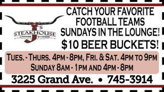 Catch your favourite football teams Sundays in the lounge