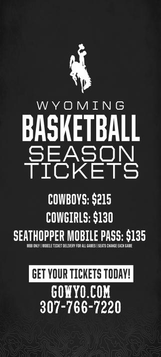 Wyoming Basketball Season Tickets