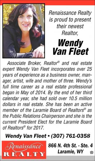 Wendy Van Fleet
