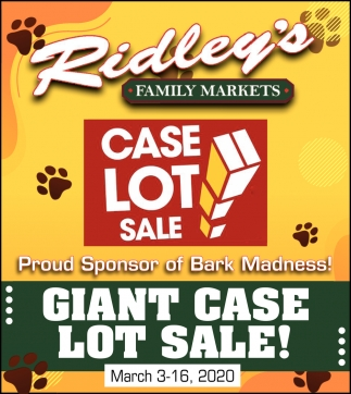 Giant Case Lot Sale!