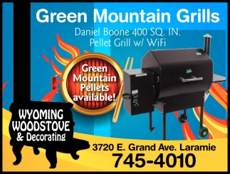 Green Mountain Pellets Available!