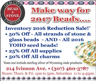 Make way for 2017 Beads...