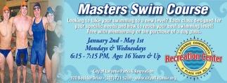 Masters Swim Course