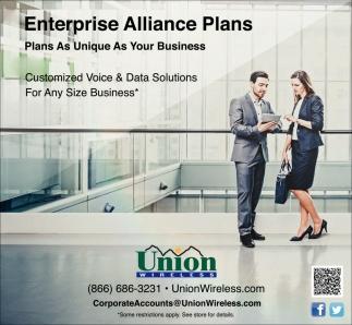 Enterprise Alliance Plans