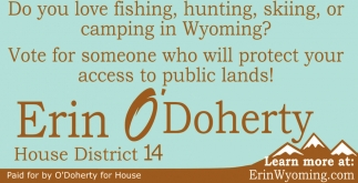 Do you love fishing, hunting, skiing, or camping in wyoming?