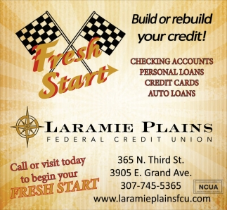 Build or rebuild your credit!
