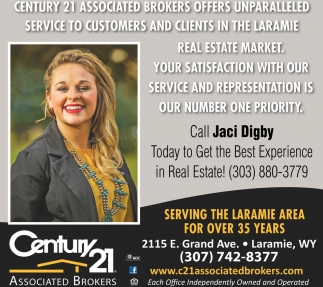 Serving the Laramie for Over 35 Years