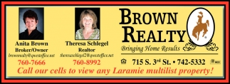 Call our cells to view any Laramie multilist property!