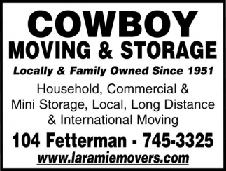 Cowboy Moving and Storage